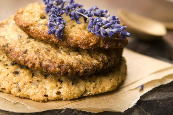 Biscuits de lavande