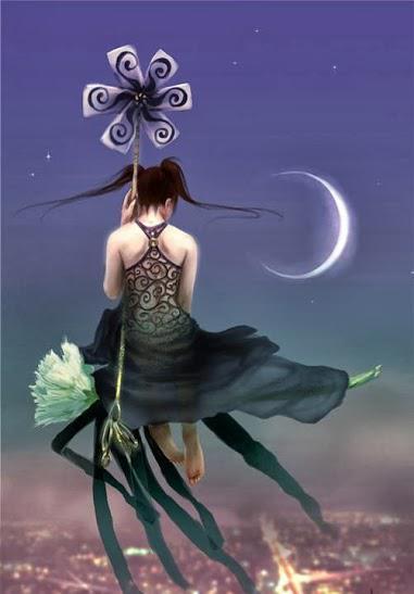 La femme fleur
